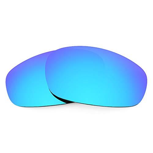 Revant Lentes de Repuesto Compatibles con Gafas de Sol Oakley Split Jacket, Polarizados, Azul Hielo MirrorShield