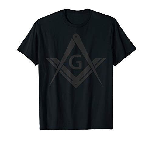 Masonic Shirt Square & Compass Stealth Modern Freemason
