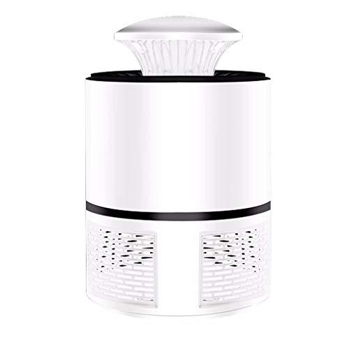 Andouy Neu Moskito Lampe Haushalt-Mückenschutz Kontroll-LED-Licht Insektenvernichter Mückenfalle(19x13x13cm.Weiß)