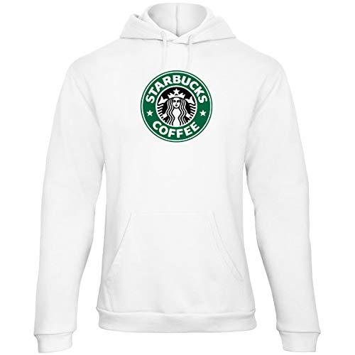 KALABULA Damen Kapuzenpullover Starbucks Coffee Sweatshirt mädchen Frau langärmelig RAG4 (M)