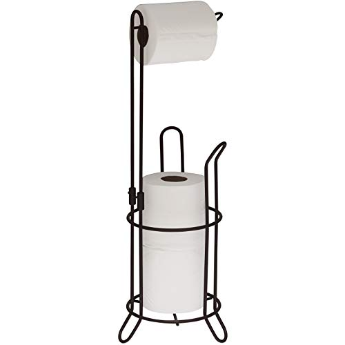 Top 10 best selling list for toilet paper holder stand brushed bronze