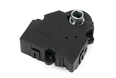 HVAC Air Door Actuator - Replaces 15-73989, 604-140, 20826182, 1573989 - Fits Chevy Traverse 2009, 2010, 2011, 2012, GMC Acadia 2007-2012, Buick Enclave 2008-2012 - AC Heater Blend Mode Actuator