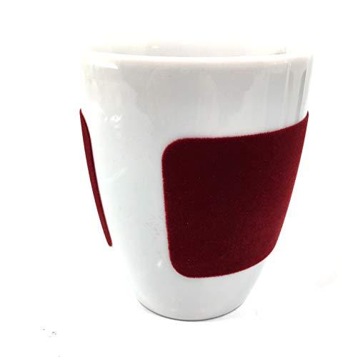 Kahla Becher Five Sense Touch 0,28cl dunkel rot Pronto