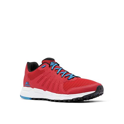 Columbia MONTRAIL F.K.T. Attempt, Zapatillas para Carreras Hombre, Montaña Roja Fathom Azul, 41.5 EU
