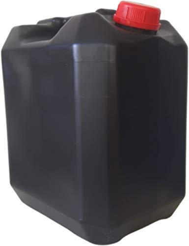 Garrafa 20 litros Negra Boca Ancha ADR Homologada Apto Uso Alimentario Agua Gasolina Resistente Químicos Furgoneta Camper Camping
