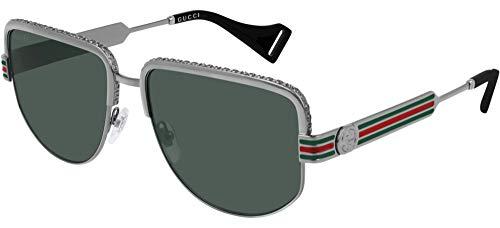 Gucci Unisex – Erwachsene GG0585S-002-59 Sonnenbrille, Mehrfarbig, 59