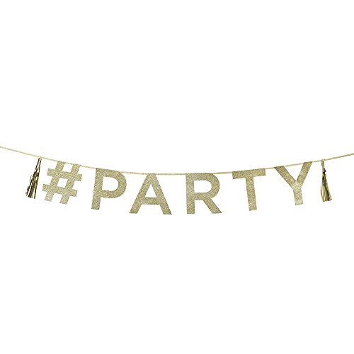 Say It With Glitter - Party Banner