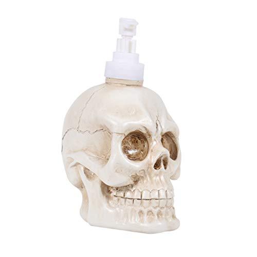 Holibanna dispensador de jabón Botella Calavera Relleno Espuma líquida Relleno decoración Halloween 350 ml