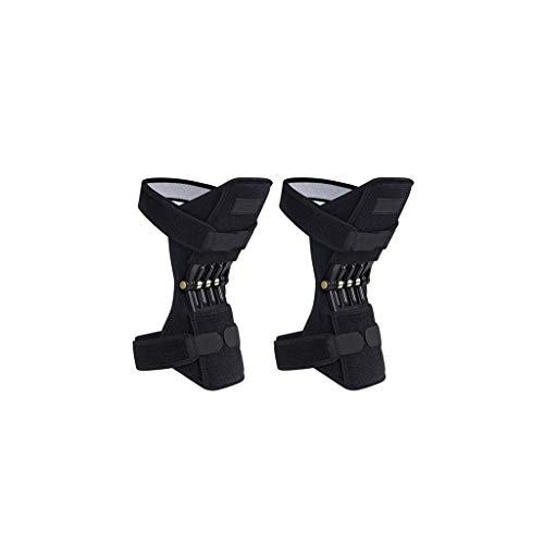 Powerlift ondersteuning kniebeschermers Booster oude koude been knie PowerLift bergbeklimmen beweging dagelijkse diepe zorg gezamenlijke kniebeschermers krachtige rebound lente kracht 1 paar te koop