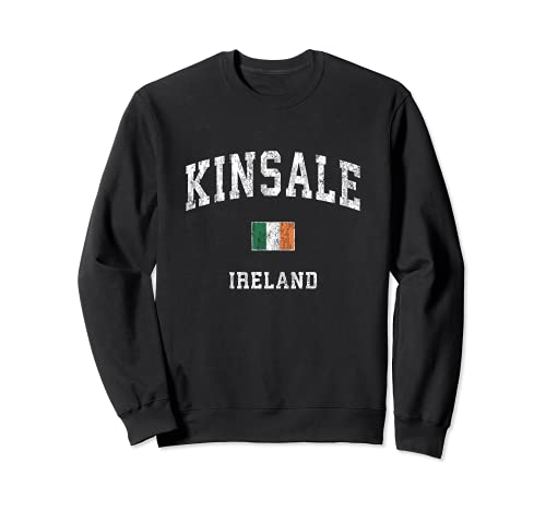 Kinsale Irlanda Vintage Atletico Sport Design Felpa