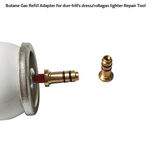 BAAQII butaangas-navuladapter voor Dun-Hill's dress/Rollagas aansteker reparatiegereedschap