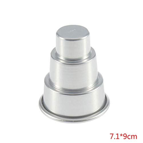 mini 3 tier cake pan - 3
