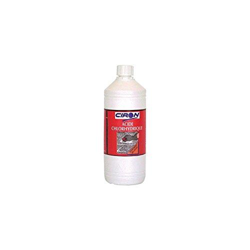 Charbonneaux-Brabant 009 Acide chlorhydrique ø 23 1 L Clair