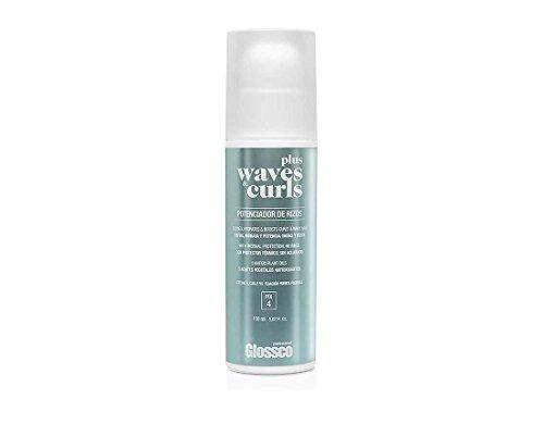 Glossco, Crema Walves & Curls Plus, Fijación Rizos y Ondas