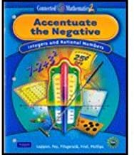 Connected Math - Accentuate the Negative (09) by Education, Pearson [Paperback (2007)]