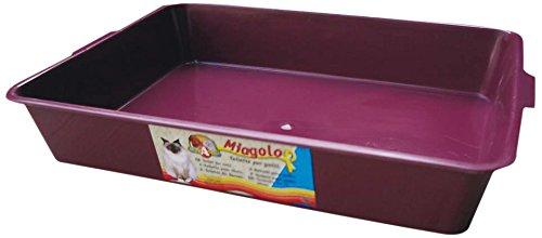 Croci Bac à Litière pour Chien Toilette Miagolo Classique 44x31x8 cm