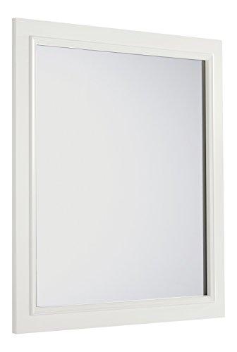Simpli Home Cambridge 32 inch x 34 inch Bath Vanity Décor Mirror -