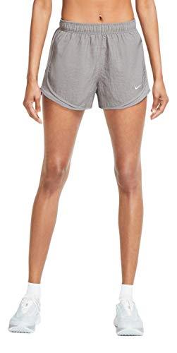 Nike Dry Women's Tempo Dri-Fit Running Shorts (Gunsmoke Heather/Wolf Grey, Medium)