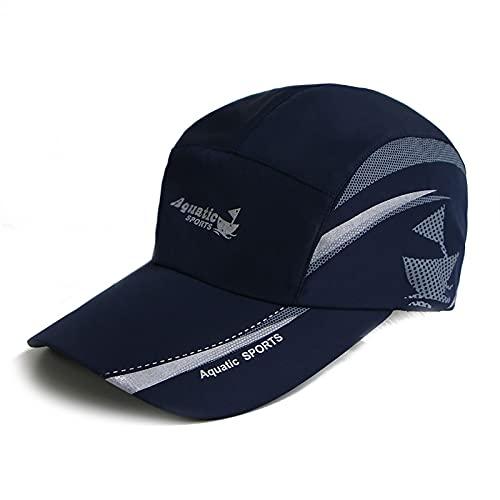 MBMYZW Estate all' Aperto Cappello da Sole A Rapida Asciugatura da Uomo da Uomo da Golf Tappo da Pesca Regolabile Unisex Berretto da Baseball Cappello da papà (Color : A, Size : 1)
