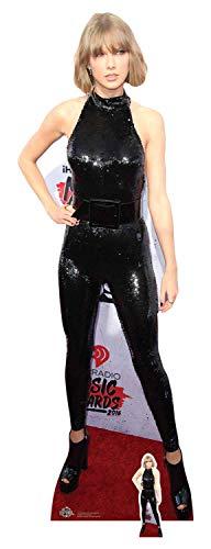 Star Cutouts Ltd Celebrity Standee Taylor Swift Katzenanzug mit Aussparungen, Mehrfarbig