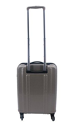 Valise Cabine TSA 55 x 35 x 20 cm 4 roulettes Airtex 100% Polycarbonate Ultra-léger 1.95 kg