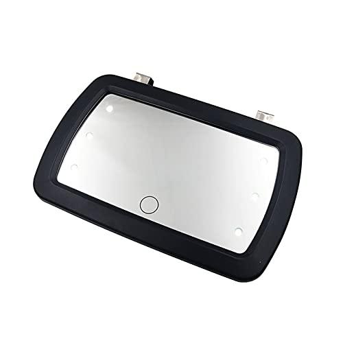 SHIJIE Cat and Mouse Visera de Coche Mirror Universal Maquillaje Plegable Vanity Mirror Cosmético Clip-on Sombrilla de Sol Ajuste para camión de automóvil SUV Vista Trasera Espejo