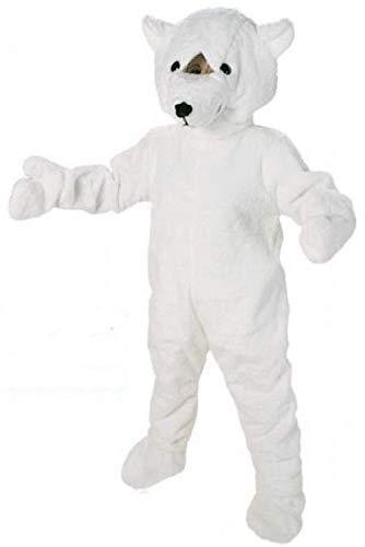 Promotion Kostüm Big Eisbär Tierkostüm Maskottchen Laufkostüm Einheitsgröße