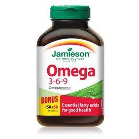 Jamieson Omega 3 6 9 200 Softgels Bonus Buy Online In Gambia