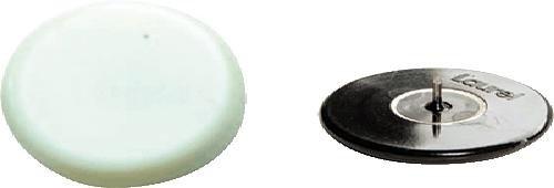 Laurel - Laurel punaise, diametre: 30 mm, couleur: blanc, 4 Pezzi