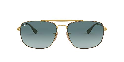 Rayban 0RB3560 91023M 58 brilmontuur, bruin (Havana/Blue Gradient Grey), heren