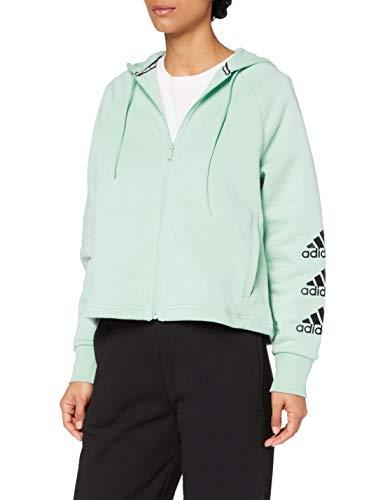 adidas W Stacked FZ HD Sweatshirt Mujer