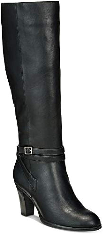 Giani Bernini Womens Beckyy Almond Toe Knee High Fashion Boots, Black, Size 5.5