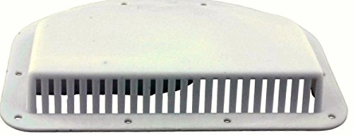 "Kaper II L12-0019 White Fits 3"" hole Trailer Vent Cover,1 Pack"