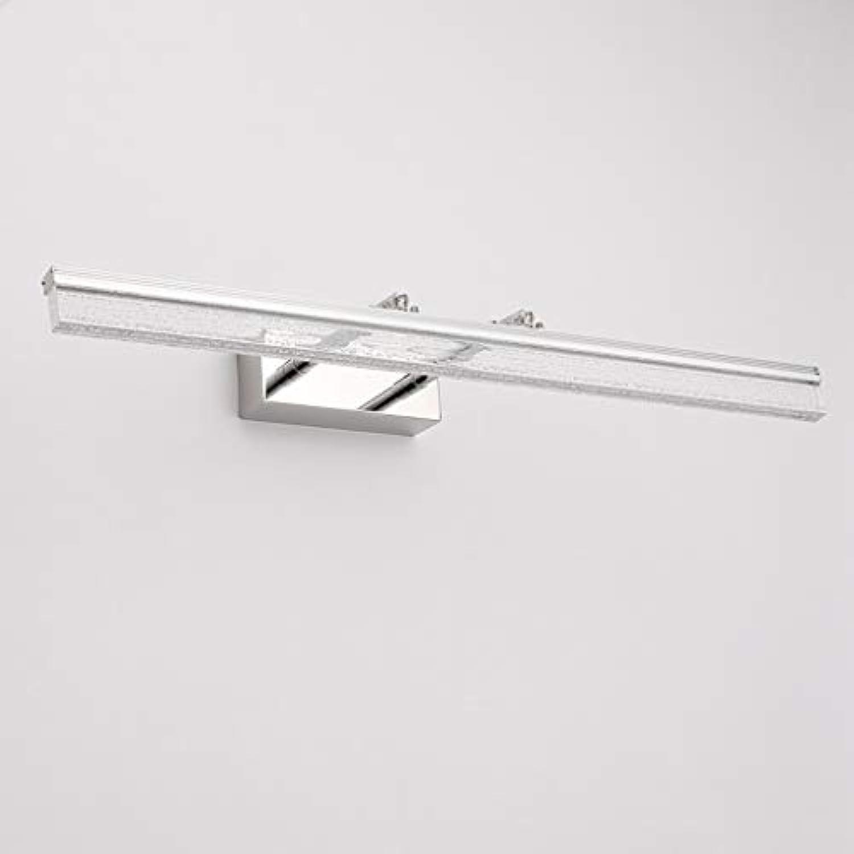 Jizhen LED Badezimmerspiegel Scheinwerfer Retro Spiegel Kabinett Make-up Lampe, Wasserdichte Acryl Einziehbare Badezimmerlampe (Farbe  Warmes Gelb) (gre   40CM)
