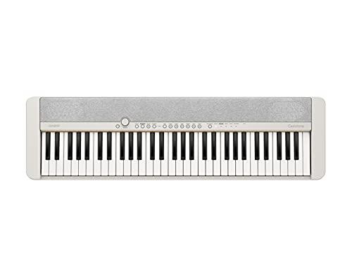 Casio Teclados CASIOTONE Piano digital CT-S1WE, Blanco