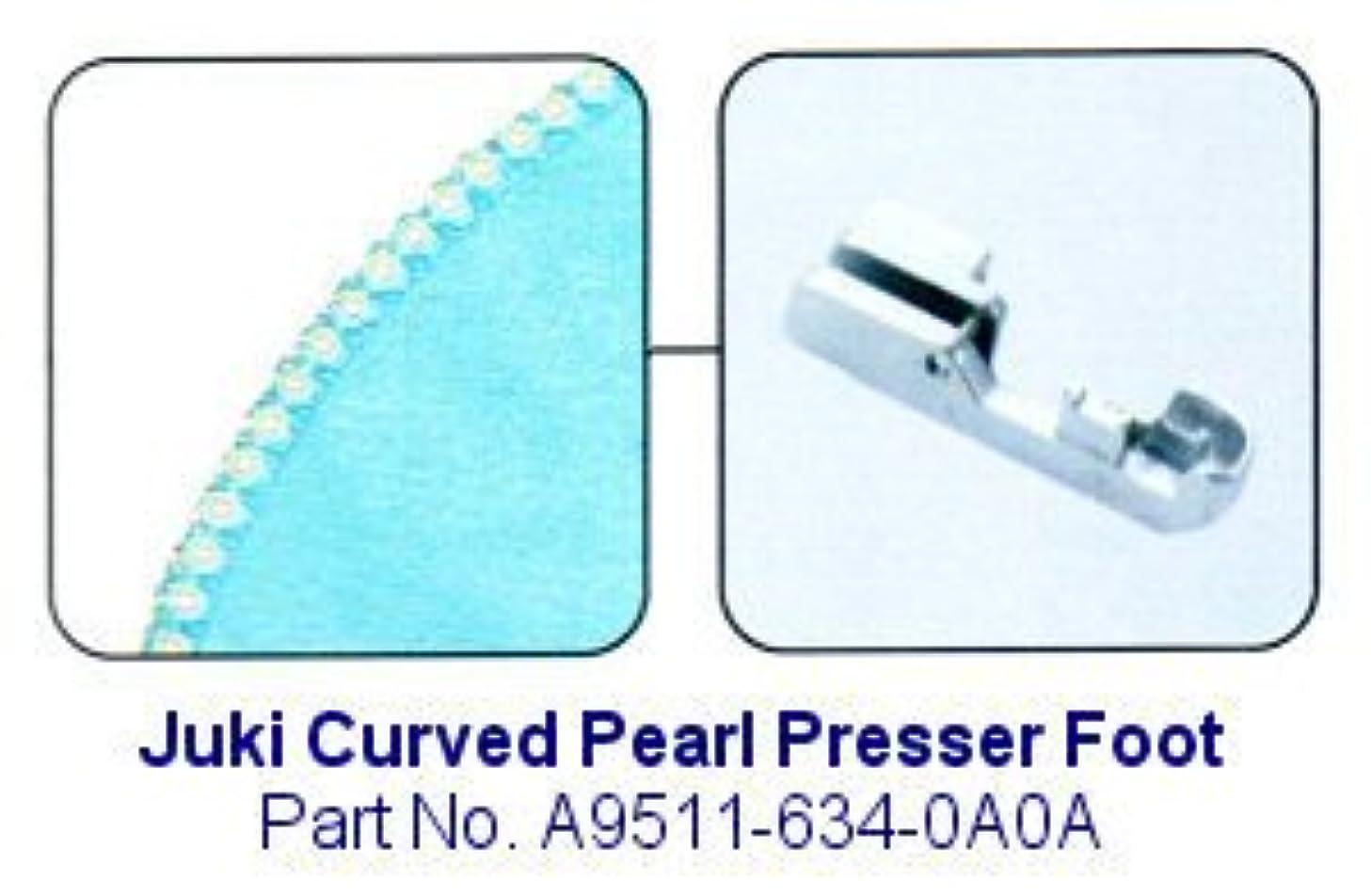 Juki Curved Pearl Serger Foot - A9511-634-0A0A