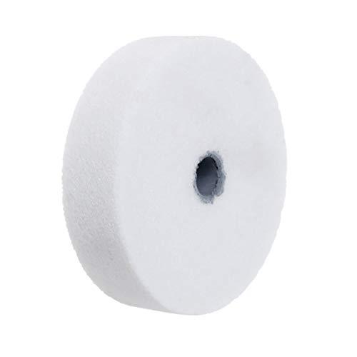 Rueda de pulido de rueda de pulido de 7,62 cm, piedra de pulido para amoladoras de banco