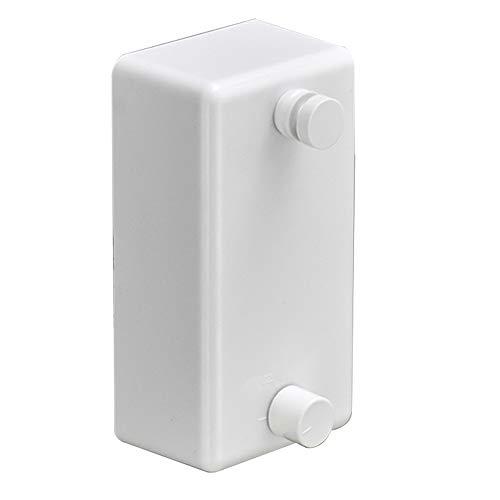 LIYOUPIN Tendedero telescópico,Instalación sin Perforaciones Cuerda de Alambre Invisible para tendedero Adecuado para Balcones Secador de Cuartos de baño Cuarto de Ropa 25 Kg cargable,E