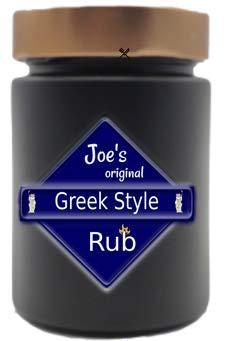 Joe's Original Greek Style Rub, Gewürzmischungen aus Franken (75g)