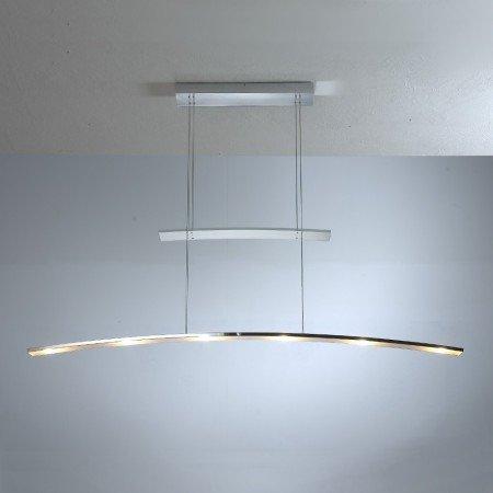 Bopp Leuchten - Arco 6-fl. Pendelleuchte - Chrom, mit LED (2700K)
