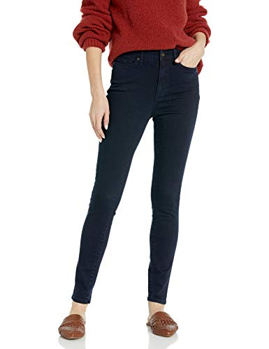 Amazon Brand - Goodthreads Women's High-Rise Skinny Jean, Indigo Blue Overdyed 25 Regular
