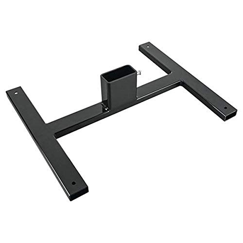 Champion Traps and Targets 44105 Champion Traps & Targets, 2x4 Mass Steel, Target Stand Base, Black