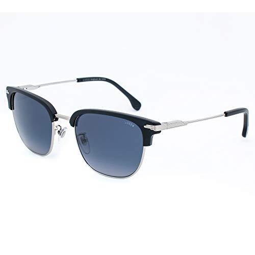 Lozza SL2280M-579K Brille, Marineblau - Silber, 53/20/140 für Herren