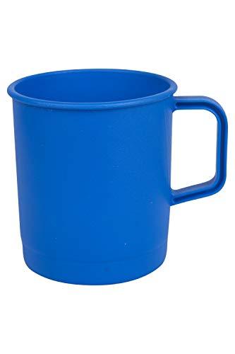 Mountain Warehouse Mug pour Camping - 10.5cm x 12cm, 62g - Tasse de Voyage légère, Tasse à café, compacte - pour Voyages, Pique-niques Bleu Taille Unique
