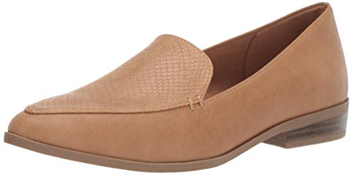 Dr. Scholl's Shoes Women's Astaire Loafer, Nude Smooth, 8 M US