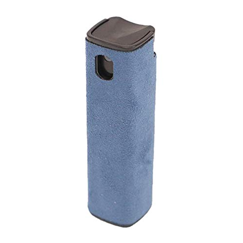 MagiDeal 2in1 Flacone Spray e Panno per La Pulizia dello Schermo-Immediatamente Pulire Lo Schermo del Tuo Telefono Cellulare, Tablet, TV-Basta Spruzzare e - Blu