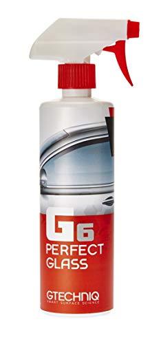 Gtechniq 0.5 G6 Perfect Glass 500 ml – streifenfreier Glasreiniger zum Reinigen jeder Glasoberfläche – Reine Formel, lösemittel-und parfümfrei – Hochleistungs-Inhaltsstoffe hinterlassen Schlieren