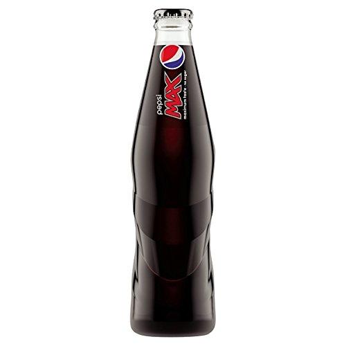 Pepsi Max - Botellas de cristal (24 x 330 ml)