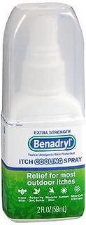 Benadryl Itch Cooling Spray Extra Strength - 2 oz, Pack of 5