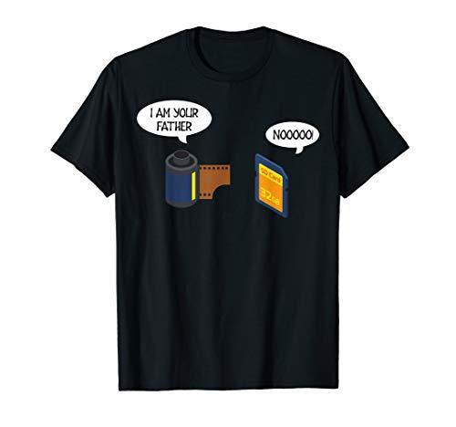 Fotografie Lustig Kamera Fotograf Herren Damen Fotografen T-Shirt